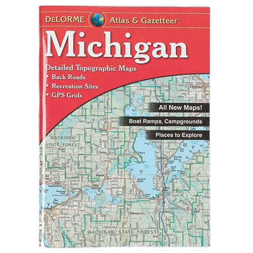 Delorme Michigan Atlas & Gazetter