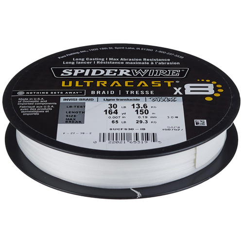 Spiderwire Ultracast Braided Fishing Line