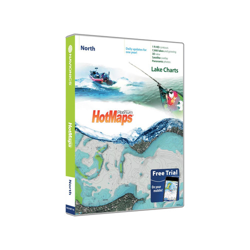 Navionics HotMaps Platinum Lake Maps North