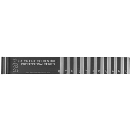 Gator Grip Professional Series Ruler 18""