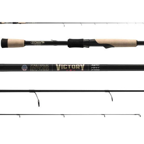 St. Croix Victory Bass Spinning Rods
