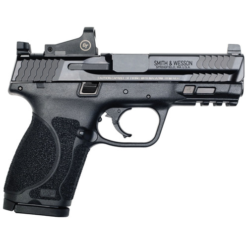 Smith & Wesson MP9 M2.0 Compact 9mm Pistol with Crimson Trace Red Dot Reflex Sight
