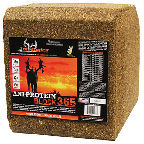 Ani-Logics® Outdoors Ani-Protein Block 365™ - 25 lbs
