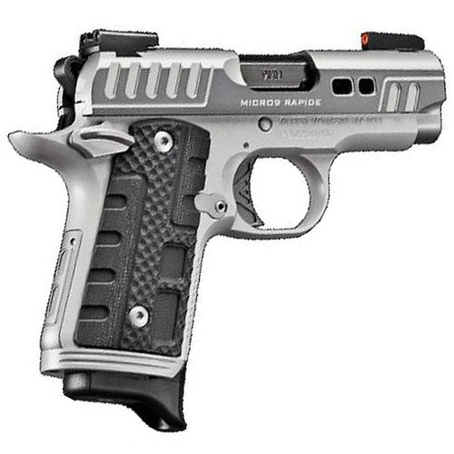 Kimber Micro 9 Rapide Black Ice 9mm Day/Night Sights Two-Tone 7rd