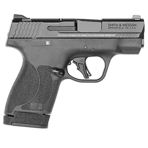 "Smith & Wesson M&P9 Shield Plus 9mm 3.1"" Barrel Flat Face Trigger Black 10rd/13rd"