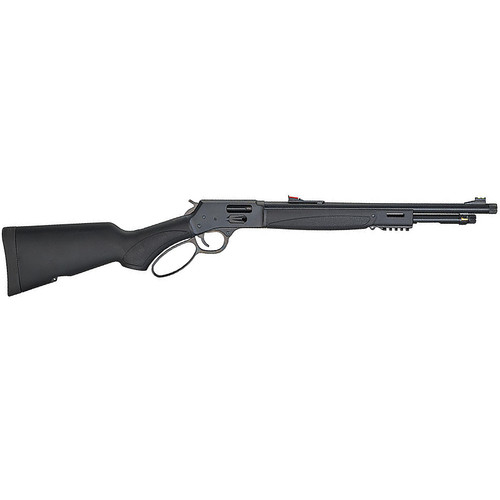 "Henry Big Boy X Model .44 Mag 17.4"" TB 7 Rds FO Sights Synthetic Matte Black"