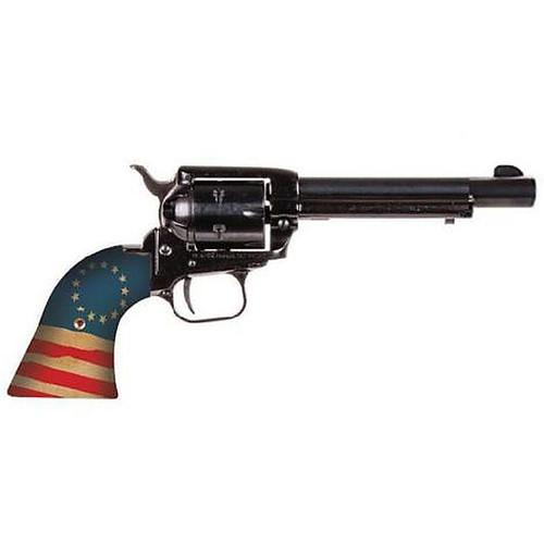 """HERITAGE ROUGH RIDER """"BETSY ROSS"""" .22 LR 6-SHOT REVOLVER 4.75"""" - RR22B4-HBR"""