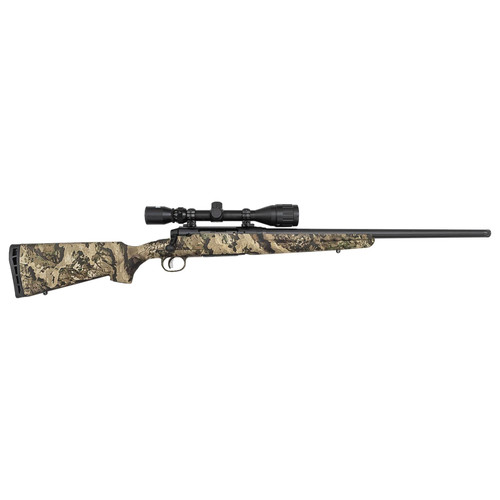 Savage Axis II Veil Whitetail Camo Exclusive 243 Win with 4-12x40mm Scope and Heavy Thr