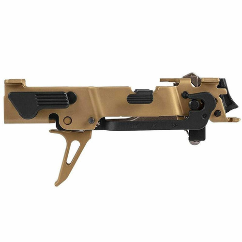 Sig 320 Custom Works Fire Control Unit Titanium Nitride Coated Skeletonized Trigger Gold