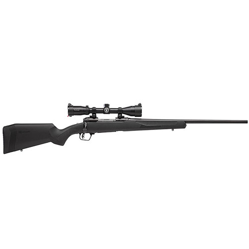 "Savage 110 Engage Hunter XP Rifle 6.5 Creedmoor 22"" Barrel 4-Round Synthetic Ergo Black Stock Bushnell Trophy 3-9x40mm Scope"
