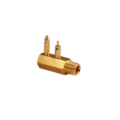 Attwood Brass Quick-Connect Fuel Tank Fitting
