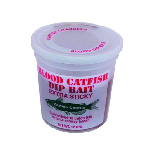 Catfish Dip Hook, Blood Scented