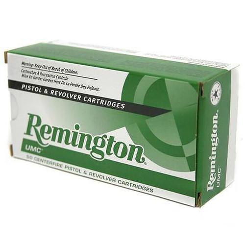 Remington UMC .357 MAG 125GR JSP 50 Rounds