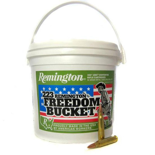 Remington UMC Freedom Bucket .223 Remington 55GR FMJ 300 Rounds