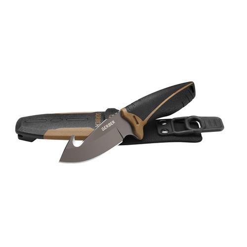 "Gerber Myth Pro 3.75"" Gut Hook Fixed Knife with Sheath"