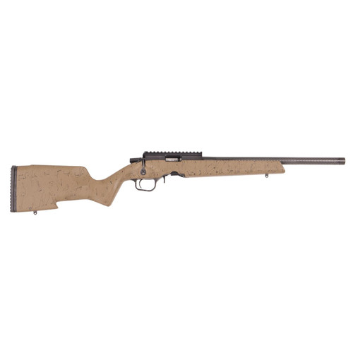 "Christensen Arms Ranger .22 LR, 18"" Barrel, 10/22 Mags, Tan"