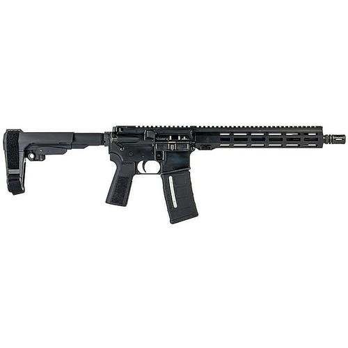 IWI Z15TAC12 Zion-15 Pistol 5.56 NATO 12.50 in 30+1 Black SBA3 Pistol Brace Stock B5 Grip