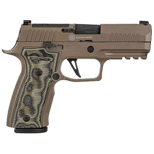 Sig Sauer P320 AXG Scorpion 9mm Luger 3.9in FDE 17+1 Rounds Pistol