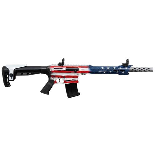 """Citadel Boss-25 12 Ga US Flag Cerakote 20"""" Barrel CBOSS2512-USA Boss 25"""