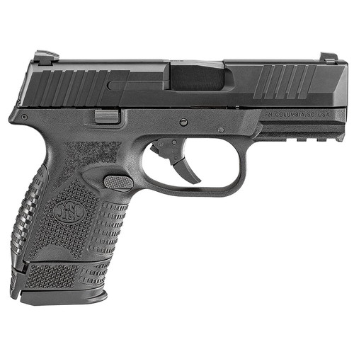 FN 509 Compact 9mm Blk/Blk Pistol w/(1) 12rd and (1) 15rd Mags 66-100815
