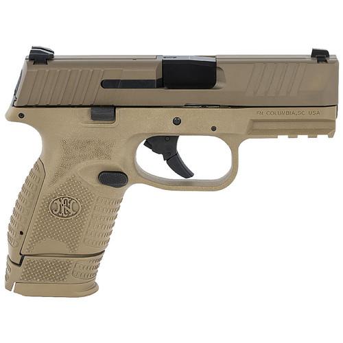 FNH 509 Compact 9mm Flat Dark Earth (FDE) Pistol