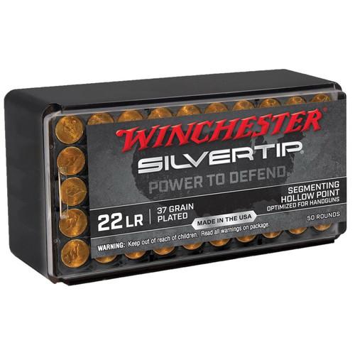 Winchester Silvertip .22LR 37GR Segmenting HP 50 Rounds