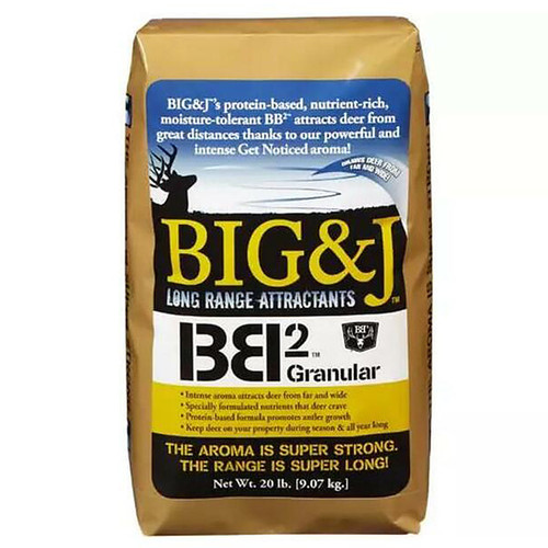 Big & J BB2 Granular Long Range Deer Attractant