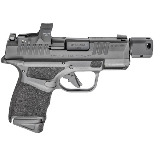 """Springfield Armory HELLCAT RDP 9mm 3.8"""" HEX Wasp Red Dot Self Indexing Compensator Manual Safety 13 Rounds"""
