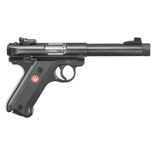 Ruger Mark IV Target 22LR Rimfire Pistol with Threaded Barrel