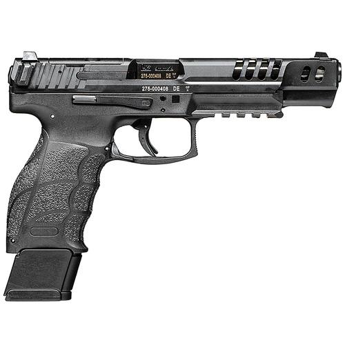 """Heckler & Koch VP9-B Match Optics Ready Pistol 81000555, 9mm Luger, 5.51"""", Black Grip, Black finish, 20 Rds"""