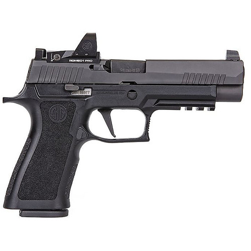 Sig Sauer P320 XFull 9mm Full-Size Striker-Fired Pistol with ROMEO1 Pro Red Dot