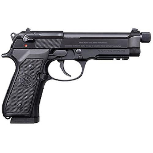 "Beretta 92A1 F 9mm Luger Semi-Automatic Pistol 4.9"" Threaded Barrel 17-Round"