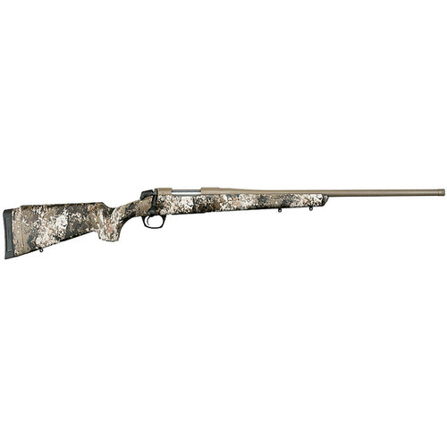 """CVA Cascade .243 Winchester Bolt Action Rifle 22"""" Threaded Barrel 4 Rounds Synthetic Stock Veil Wideland Camouflage"""