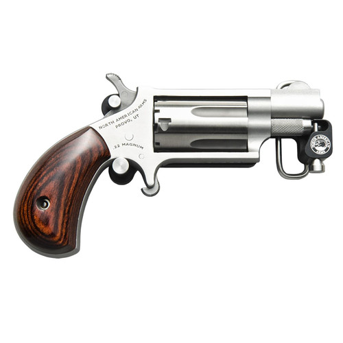 North American Arms 22 Magnum Mini Revolver with Belt Buckle