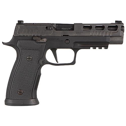 "Sig Sauer P320 AXG PRO 9mm 4.7"" Optics Ready Pistol w/X-RAY3 & (2) 17rd Steel Mags 320AXGF-9-BXR3-PRO-R2"