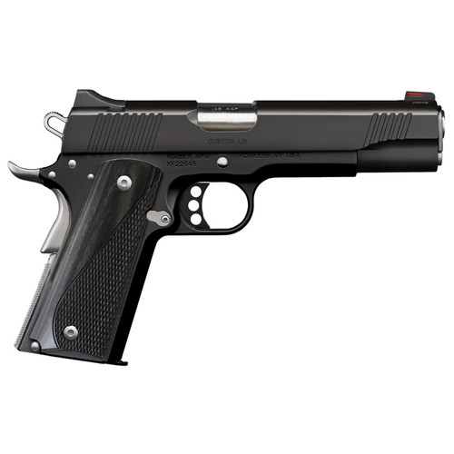 Kimber Custom LW Nightstar 45 ACP Pistol with Stainless Small Parts and Gray Laminate Grips