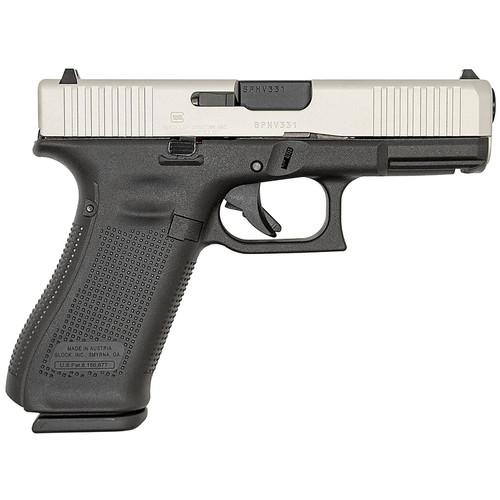 Glock 45 9mm 17-Round Pistol with Aluminum Cerakote Slide