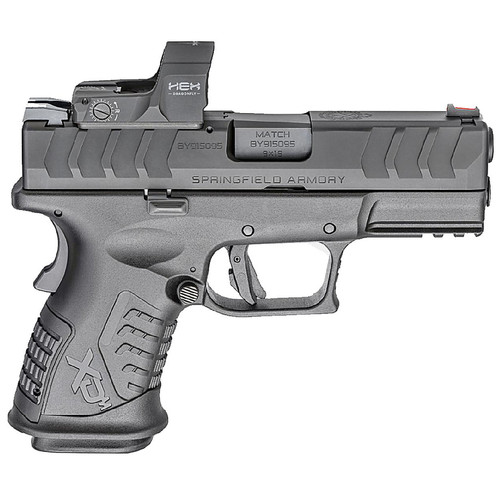 Springfield XDM Elite 3.8 OSP Compact 9mm Pistol with Hex Dragonfly Red Dot