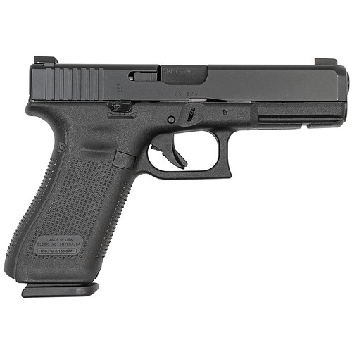Glock 17M 9mm Pistol with Ameriglo Bold Sights and Extended Slide Lock (Made in USA)