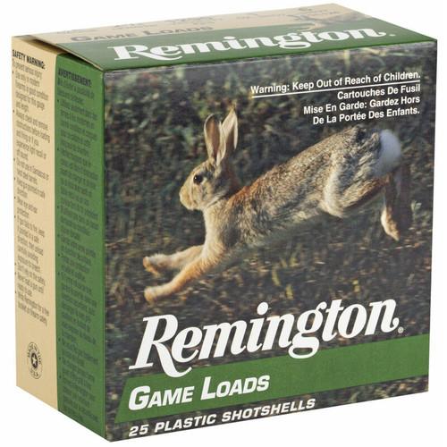 """Remington Game Load 12 Gauge Ammunition 2-3/4"""" #6 Lead Shot 1 Ounce 25 Rounds"""
