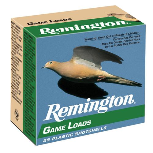 "Remington Ammunition GL206 Lead Game Loads 20 Gauge 2.75"" 7/8 oz 6 Shot 25 Rounds"