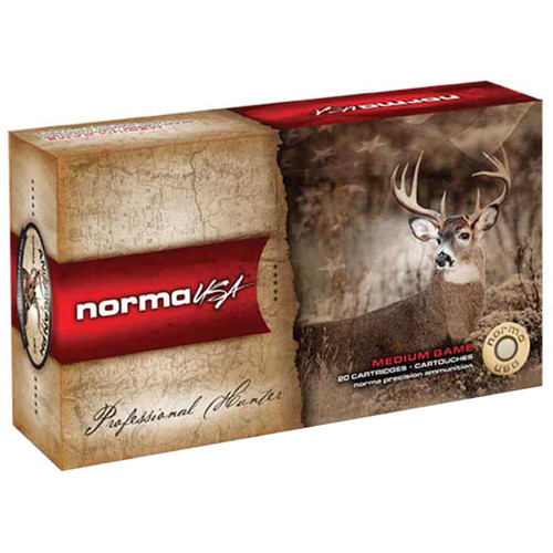 Norma American PH Ammunition 7.7mm Japanese 174 Grain Soft Point 20 Rounds
