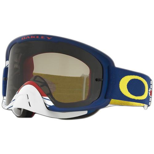 Oakley O2 MX Goggles OO7068-1200 Lancers Frame Dark Grey Lens