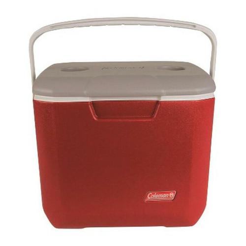 Coleman 30qt Bail Handle Cooler - Red