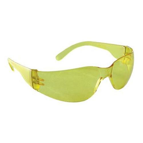 Radians MR0140ID Mirage Safety Glasses - Amber Frame - Amber Frame Lens