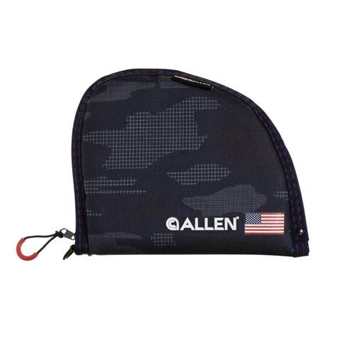 """Allen Company 950-9 9"""" Patriot Handgun Case, Patriotic Camo"""