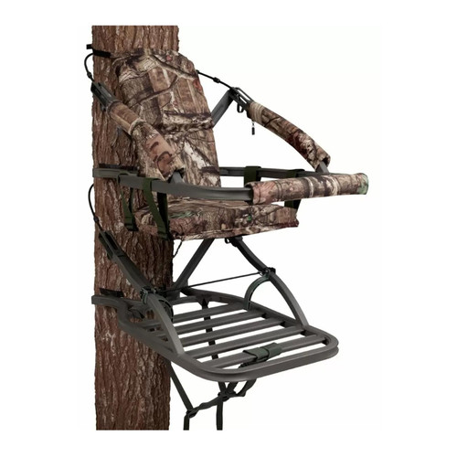 Summit Treestands SU81573 Viper SD Climber Stand w/ Folding Bow Hanger