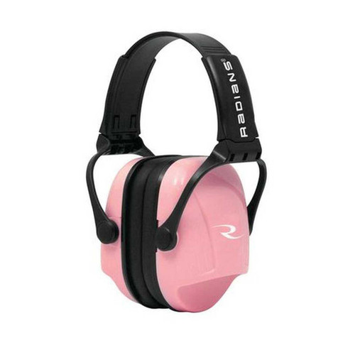 Radians Women's/Youth Hearing Protection Muffs NRR22 Pink MP22RC
