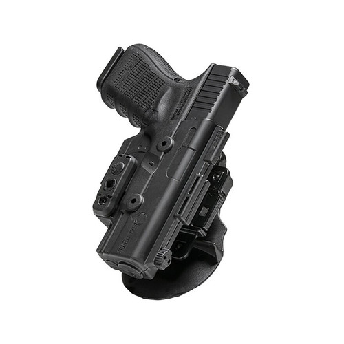 Alien Gear ShapeShift OWB Paddle Holster Right Hand Sig Sauer P320 Compact, Carry 9mm Polymer Black