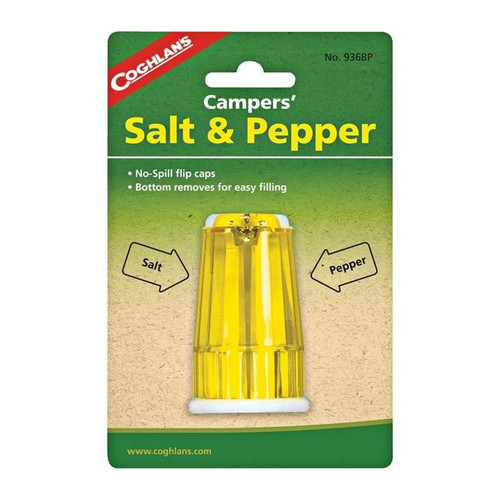 Coghlans Campers' Salt & Pepper Shaker